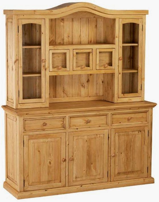 meubles en pin massif finition brut ou cir e petit prix. Black Bedroom Furniture Sets. Home Design Ideas