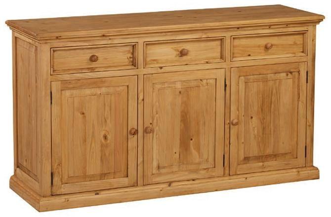 Meubles en pin massif finition brut ou cir e petit prix - Petit meuble en pin ...