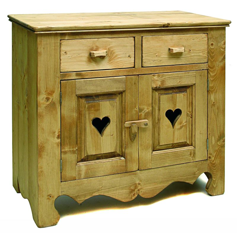 Collection grand village meubles en pin massif finition huil - Buffet en pin pas cher ...