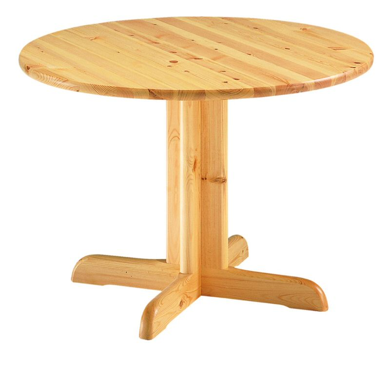 Table ronde chene massif avec allonges stunning table for Table ronde allonges
