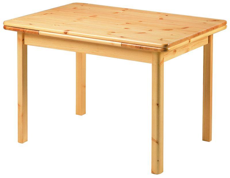 Les tables de cuisine de votre discounteur affaires meuble for Table rectangulaire bois avec allonges