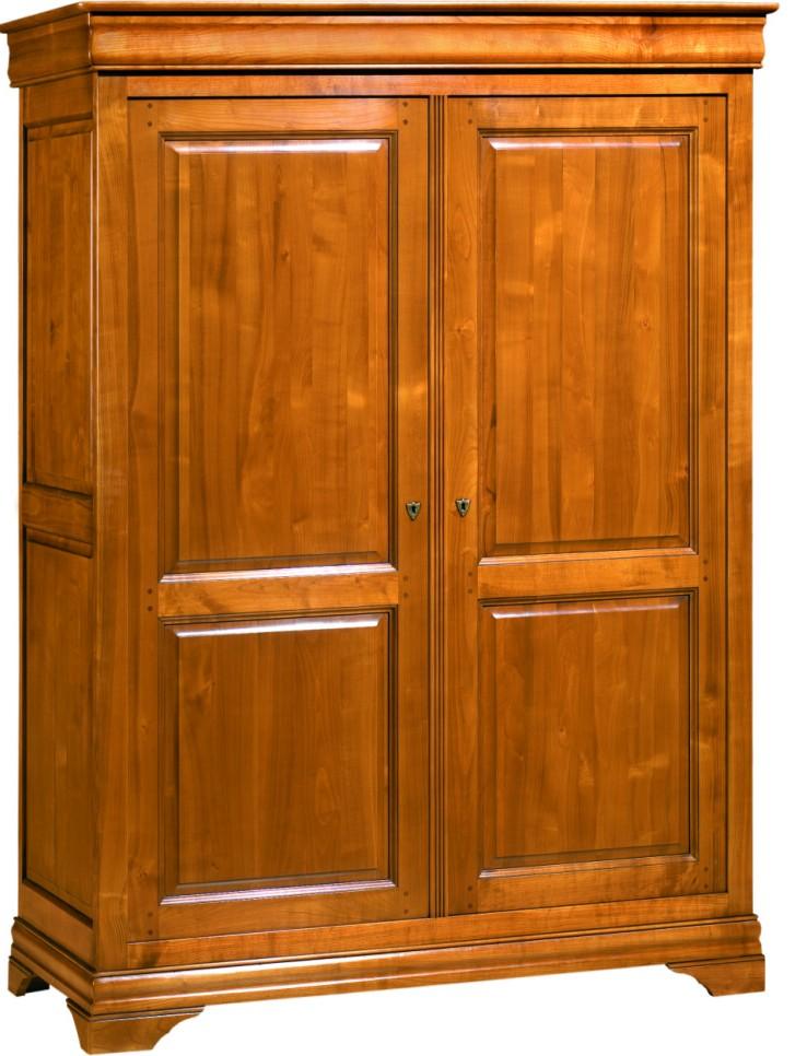 Salle manger meuble de sjour en merisier massif en for Armoire de salle a manger