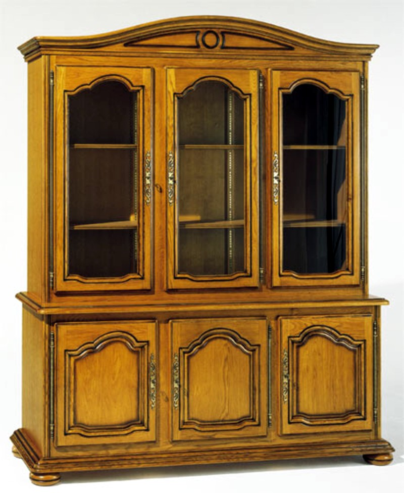 collection la tremblade meuble ch ne massif style louis xiv. Black Bedroom Furniture Sets. Home Design Ideas