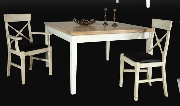 salle manger rustique style contemporain ch ne merisier pin dans le 17. Black Bedroom Furniture Sets. Home Design Ideas
