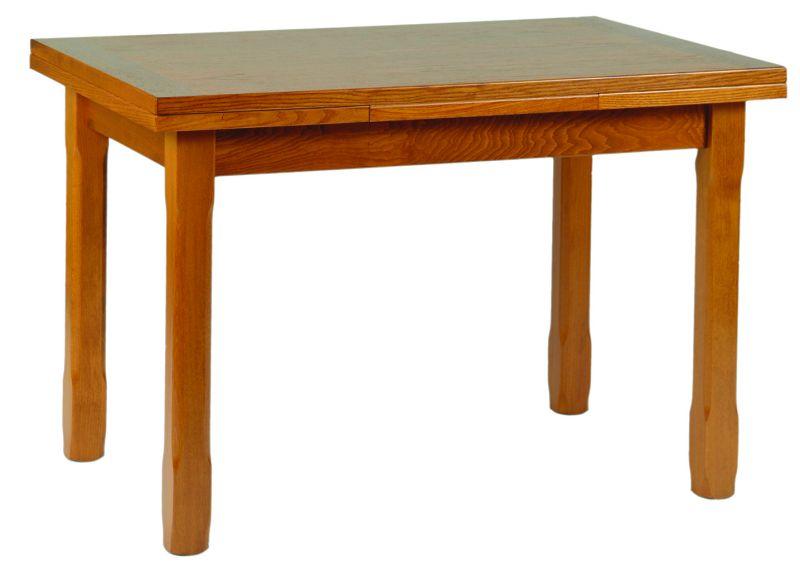 Salle manger rustique style contemporain chne merisier for Table style usine