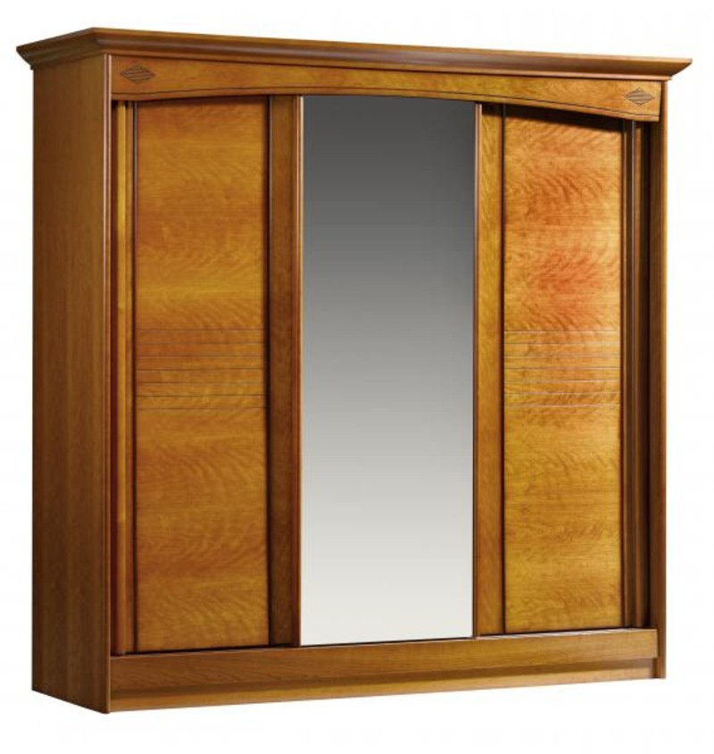 Stunning armoire portes chambre louisiane with model for Modele armoire chambre a coucher