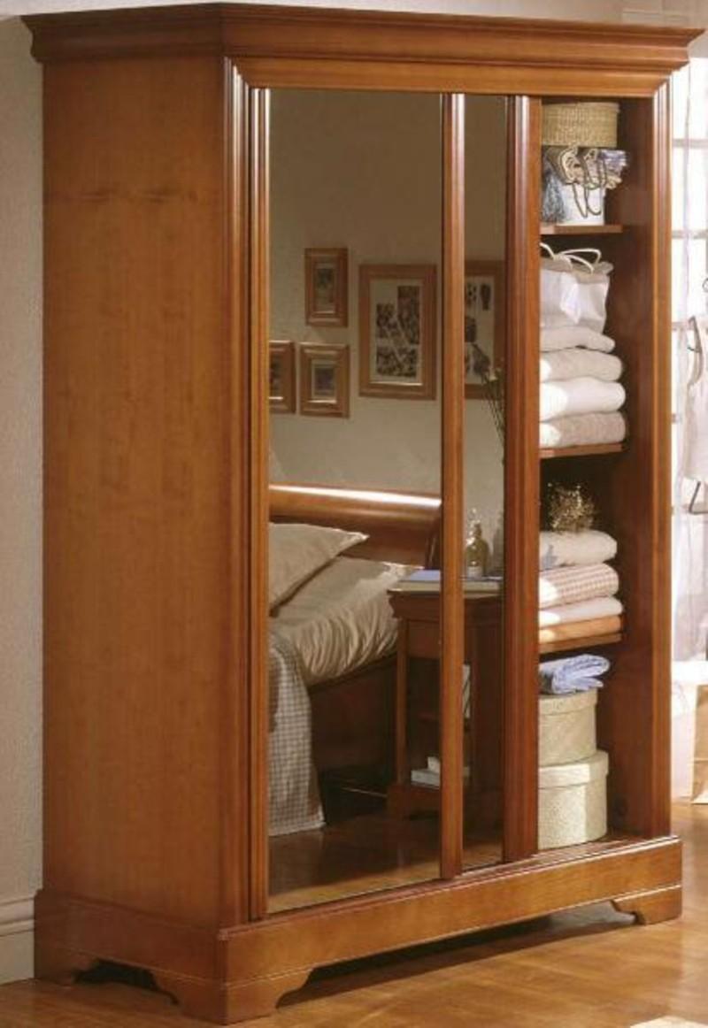 Armoires de style louis philippe style moderne rochefort - Armoire portes coulissantes but ...
