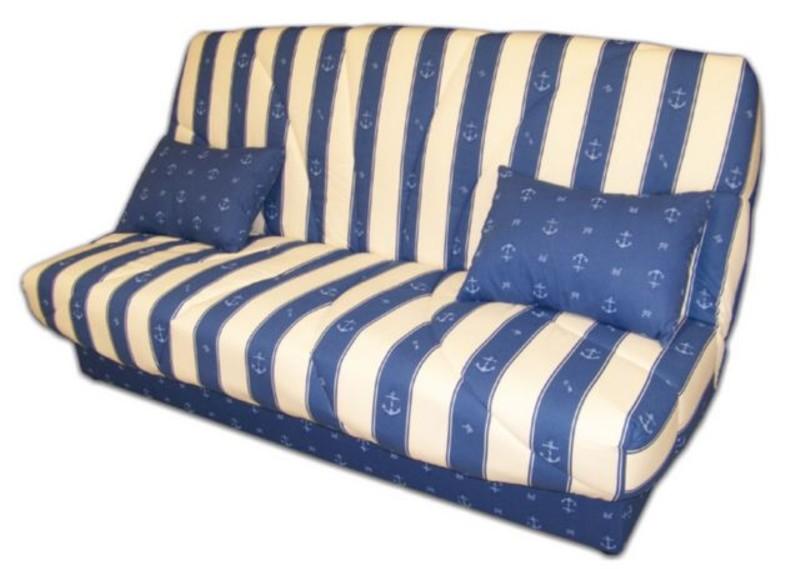 Les banquettes clic clac de affaires meuble marennes olron for Housse clic clac bleu marine